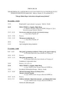 thumbnail of Program, Jasna Góra, dobry