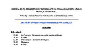 thumbnail of Sesja nt. Liturgii Godzin, 2020